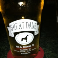 Photo taken at Great Dane Pub & Brewing Company by Heather B. on 7/12/2012