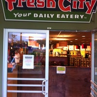 Photo taken at Fresh City by Heidi B. on 8/14/2011