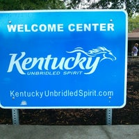 Photo taken at Kentucky Welcome Center by Kim C. on 9/3/2012