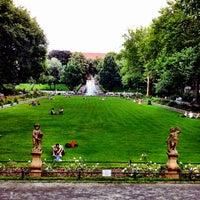 Das Foto wurde bei Körnerpark von Felipe T. am 7/26/2012 aufgenommen