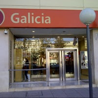 Photo taken at Banco Galicia by Demian B. on 7/19/2012
