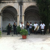 Photo taken at Hosteria Del Convento by Gad (. on 4/7/2012