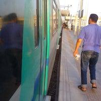 Photo taken at Gare Tahar Sfar by Nabil B. on 7/10/2012