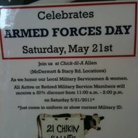 Photo taken at Chick-fil-A by Tim N. on 5/18/2011