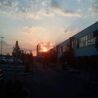 Photo taken at Auchan Fehér tó by Tibor S. on 8/25/2011