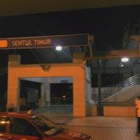 Photo taken at RapidKL Sentul Timur (ST11) LRT Station by Siraj F. on 12/12/2011