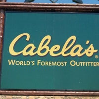Photo taken at Cabela's by boB A. on 5/9/2011