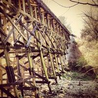 Das Foto wurde bei Atlanta BeltLine Northside Trail von Tyler B. am 3/10/2012 aufgenommen