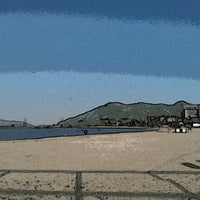 Photo taken at Suma Coast by 虎太郎 &. on 8/3/2012