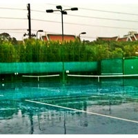 Photo taken at RBSC Tennis Court by Sunisa P. on 5/1/2011