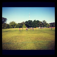 Photo taken at Austin Soccer Fields by Liam P. on 4/14/2012