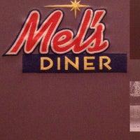 Photo taken at Mel's Diner by Leslie M. on 12/27/2011