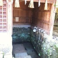 Photo taken at Ujigami Shrine by Masaya H. on 7/16/2012