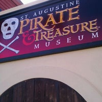 Photo taken at St. Augustine Pirate and Treasure Museum by Denna B. on 11/9/2011