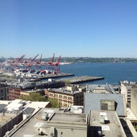 Photo taken at Courtyard by Marriott Seattle Downtown/Pioneer Square by Lucho S. on 5/13/2012