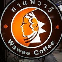 Photo taken at Wawee Coffee by nu a. on 2/27/2011