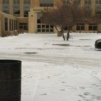 Photo taken at Bismarck High School by Amber R. on 1/29/2012