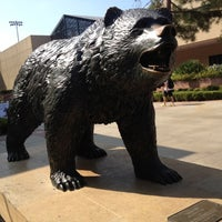 Photo taken at UCLA Bruin Statue by Eric A. on 9/11/2012