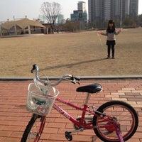 Photo taken at 일산자이 중앙공원 by Jaemin L. on 3/17/2012
