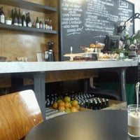 Photo taken at Threefold – Foodstore & Eatery by Lou P. on 12/1/2011