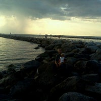Photo taken at South Jetty / Humphris Park by Shana C. on 9/18/2011