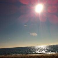 Photo taken at El Salón Beach by Juan S. on 1/29/2012