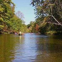 Photo taken at The Pere Marquette River by Father M. on 4/12/2012