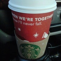 Photo taken at Starbucks by Sandy H. on 11/19/2011