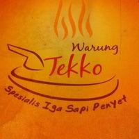 Photo taken at Warung Tekko by vady M. on 1/17/2012