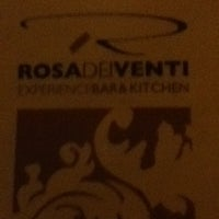 Photo taken at Rosa Dei Venti Experience Bar by Nicole D. on 11/13/2011