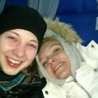 Photo taken at Каток у метро Ясенево by Марина Б. on 1/17/2012