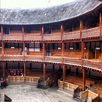 Photo taken at Shakespeare's Globe Theatre by Angela on 7/5/2012