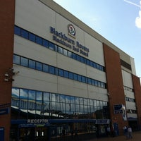 Photo taken at Ewood Park by Interistiorg on 8/22/2011