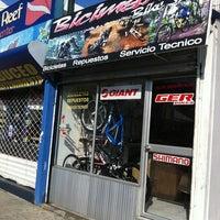 Photo taken at Bicimania Bike Shop by JPAlien on 7/16/2011
