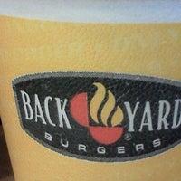 Photo taken at Back Yard Burgers by Quensha J. on 12/10/2011