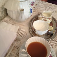 Photo taken at A Corner of England Tea Room by It's me on 2/25/2012