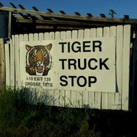 Photo taken at Tiger Truckstop by Randy C. on 4/20/2012