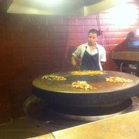 Photo taken at Mongolian Grill San Jacinto by Jon W. on 7/4/2012