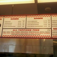 Photo taken at Five Guys by Christopher Terrance J. on 8/24/2011