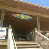 Photo taken at Clayton's Beach Bar And Grill by Laura L. on 7/14/2012