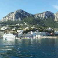 Photo taken at Darsena Capri by Roberto S. on 10/23/2011