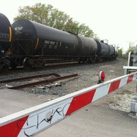 Photo taken at 39th & Racine Rail Rd Crossing by Debii W. on 5/10/2011