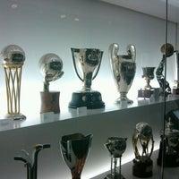 Photo taken at Museu Futbol Club Barcelona by Simon H. on 5/4/2012