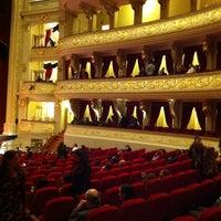 Photo taken at Teatro Municipal de Lima by Dirk G. on 6/3/2011