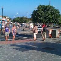 Photo taken at Avda De Las Playas by Peter B. on 9/8/2012