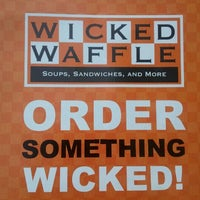 Photo taken at Wicked Waffle by Alesha B. on 9/14/2011