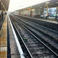 Photo taken at Kingston Railway Station (KNG) by Jim D. on 11/19/2011