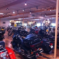 Photo taken at Dudley Perkins Co. Harley-Davidson by Jason A. on 8/6/2011