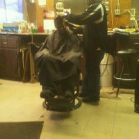 Photo taken at Dave's Barber Shop by Lakema O. on 1/24/2012
