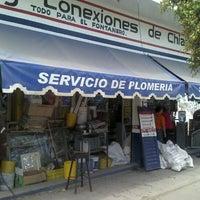 Photo taken at Tubos Y Conexiones De chiapas by Patricia T. on 3/6/2012